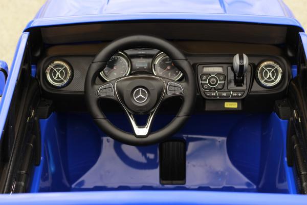 Masinuta electrica Mercedes X-Class 2x45W STANDARD #Albastru 10