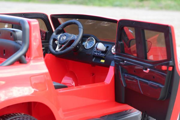 Masinuta electrica Mercedes X-Class 2x45W STANDARD #Rosu [6]