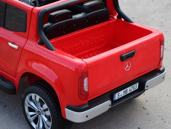 Masinuta electrica Mercedes X-Class 2x45W STANDARD #Rosu 9