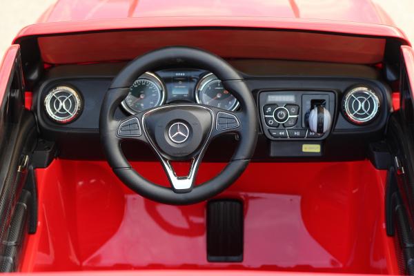 Masinuta electrica Mercedes X-Class 2x45W STANDARD #Rosu [7]