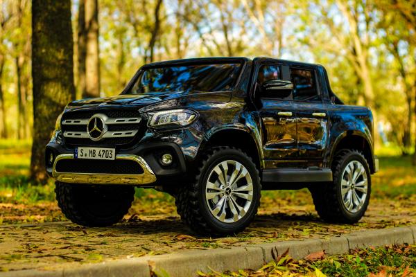 Masinuta electrica Mercedes pentru copii 2 - 6 ani [2]