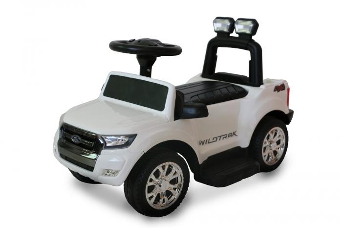 Masinuta electrica pentru copii Ford Ranger 25W 6V STANDARD #Alb [0]