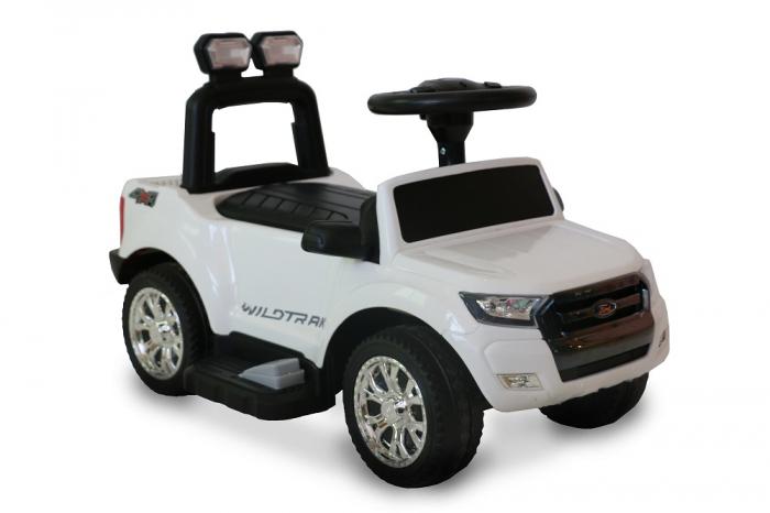 Masinuta electrica pentru copii Ford Ranger 25W 6V STANDARD #Alb [1]