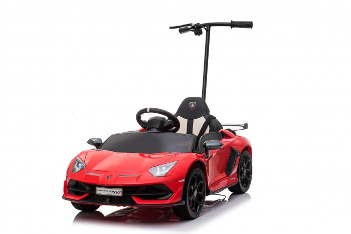Masinuta electrica Lamborghini SVJ cu hoverboard, rosu [21]