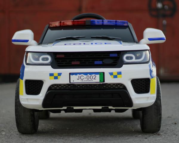 Masinuta electrica POLICE JC002 90W 12V PREMIUM #Alb [1]