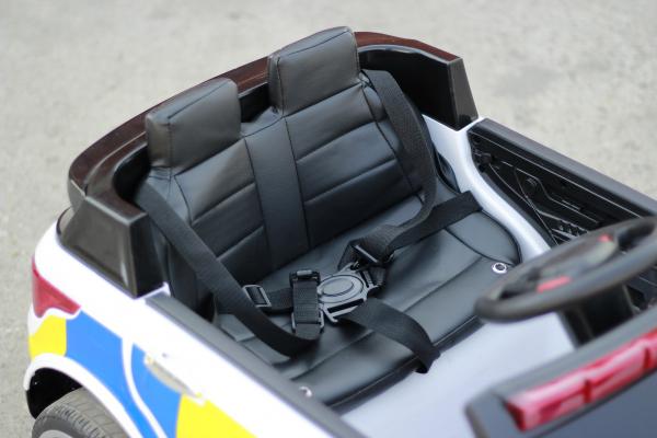 Masinuta electrica POLICE JC002 90W 12V PREMIUM #Alb [4]