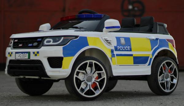 Masinuta electrica POLICE JC002 90W 12V PREMIUM #Alb [2]