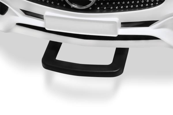 Masinuta electrica de politie Mercedes SL500 90W STANDARD #Alb 2