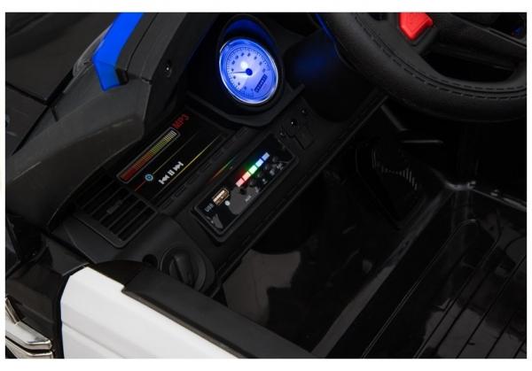 Masinuta electrica POLICE JC002 90W 12V PREMIUM #Negru 10