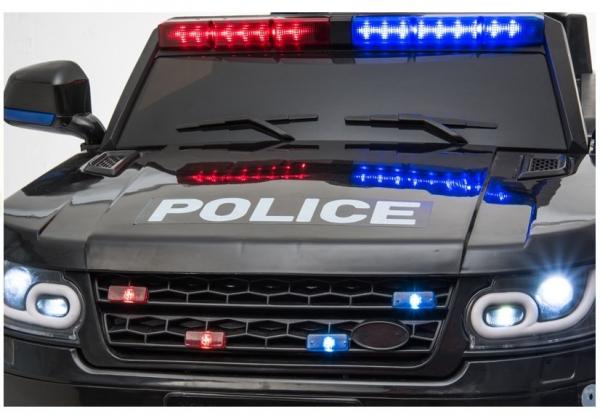 Masinuta electrica POLICE JC002 90W 12V PREMIUM #Negru 9