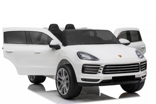 Masinuta electrica Porsche Cayenne XXL PREMIUM #Alb 0