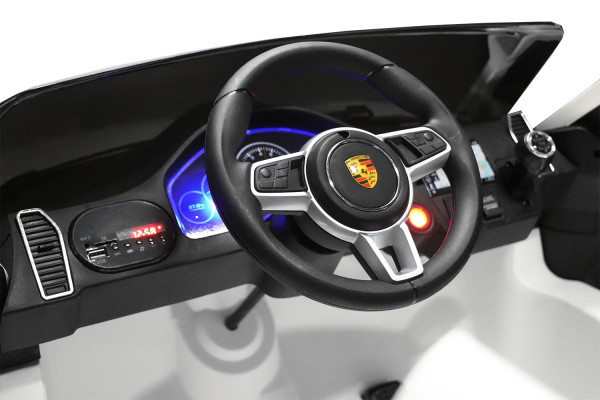 Masinuta electrica Porsche Cayenne XXL PREMIUM #Alb 9