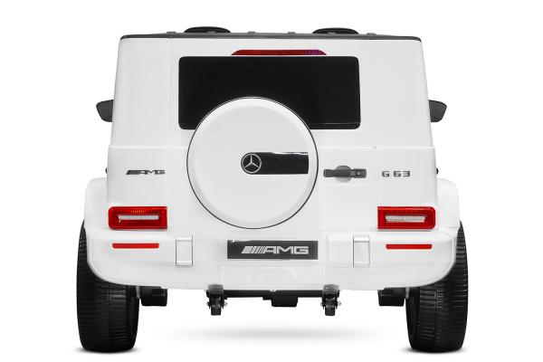 Masinuta electrica Mercedes G63 XXL 4x4 PREMIUM  #Alb 5