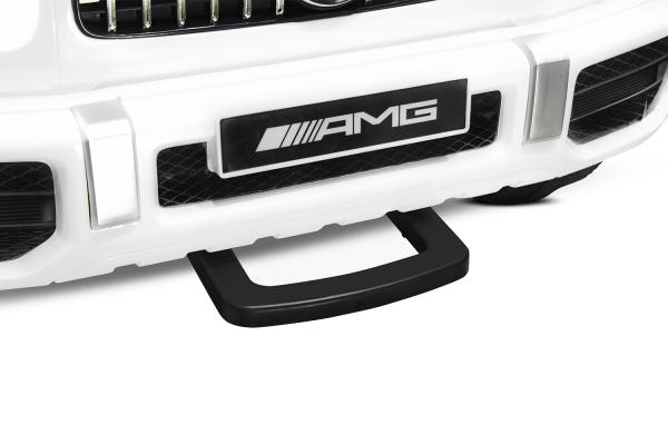 Masinuta electrica Mercedes G63 XXL 2x4 PREMIUM  #Alb 6