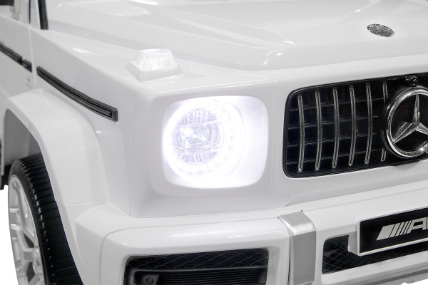 Masinuta electrica Mercedes G63 XXL 4x4 PREMIUM  #Alb 10