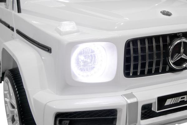 Masinuta electrica Mercedes G63 XXL 2x4 PREMIUM  #Alb 7