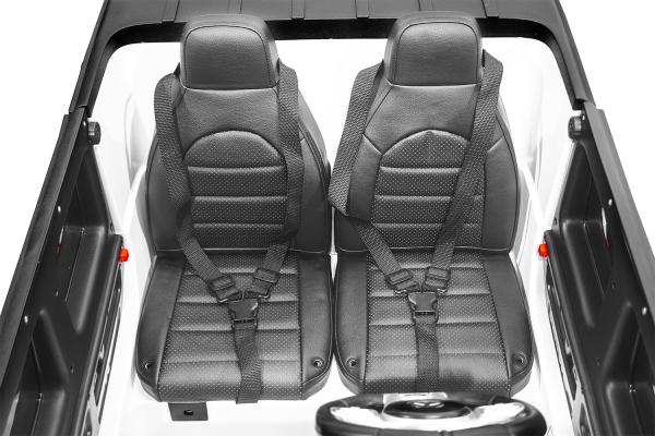 Masinuta electrica Mercedes G63 XXL 2x4 PREMIUM  #Alb 8