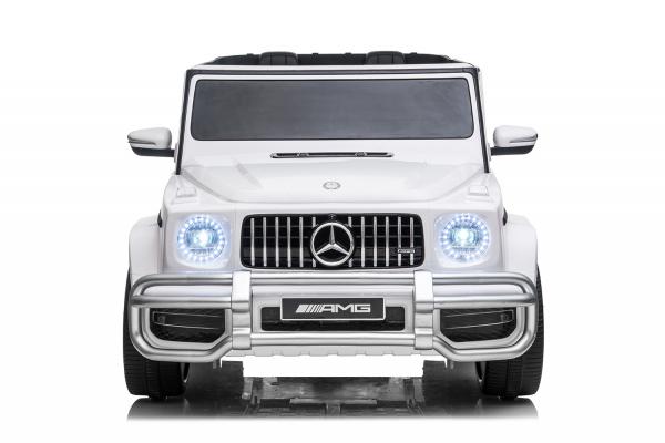 Masinuta electrica Mercedes G63 XXL 4x4 PREMIUM  #Alb 1