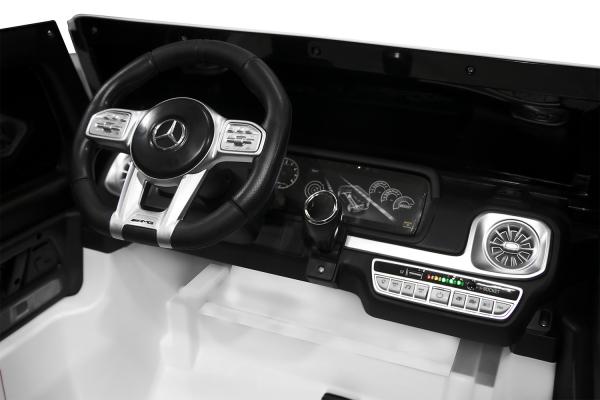 Masinuta electrica Mercedes G63 XXL 4x4 PREMIUM  #Alb 8