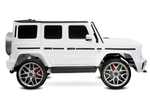 Masinuta electrica Mercedes G63 XXL 2x4 PREMIUM  #Alb 1