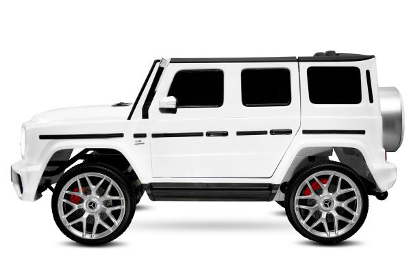 Masinuta electrica Mercedes G63 XXL 2x4 PREMIUM  #Alb 4