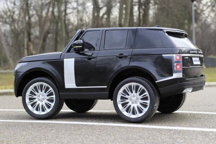 Masinuta electrica Range Rover Vogue HSE 4x4 180W DELUXE, player MP4 #Negru [7]
