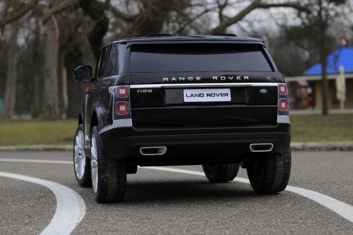 Masinuta electrica Range Rover Vogue HSE 4x4 180W DELUXE, player MP4 #Negru [5]