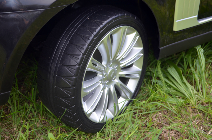 Masinuta electrica Range Rover Vogue HSE 4x4 180W DELUXE, player MP4 #Negru [10]