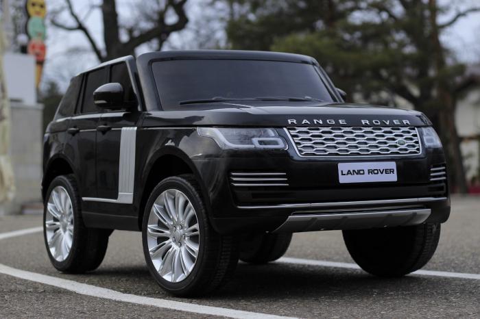 Masinuta electrica Range Rover Vogue HSE 4x4 180W DELUXE, player MP4 #Negru [2]