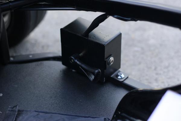 Masinuta electrica RAZER GT 48V 1000W cu 2 viteze #Negru 9