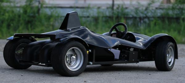Masinuta electrica RAZER GT 48V 1000W cu 2 viteze #Negru 3