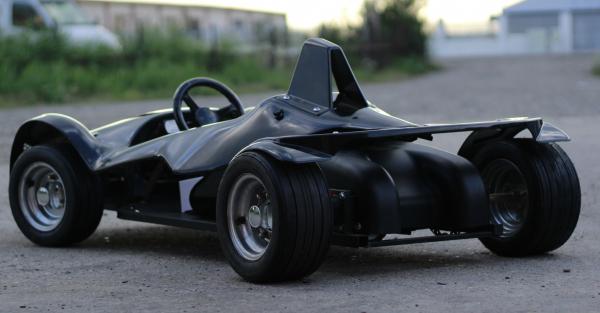 Masinuta electrica RAZER GT 48V 1000W cu 2 viteze #Negru 5
