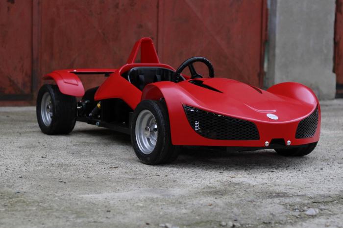 Masinuta electrica RAZER GT 48V 1000W cu 2 viteze #Rosu [3]