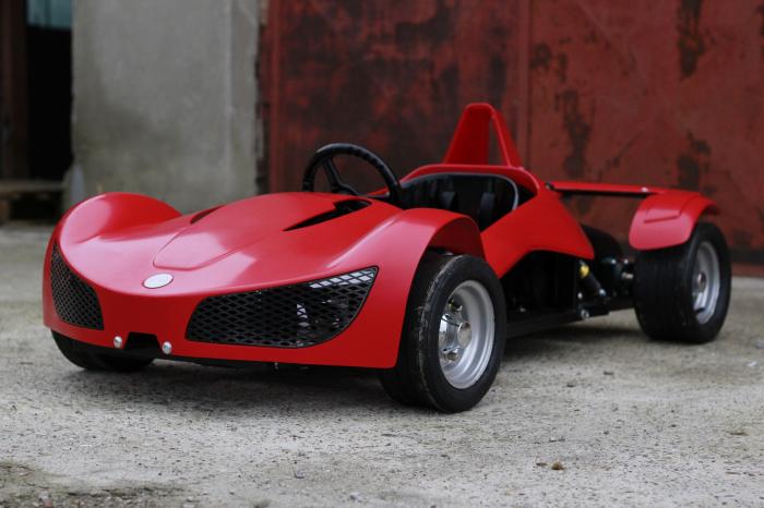 Masinuta electrica RAZER GT 48V 1000W cu 2 viteze #Rosu 2
