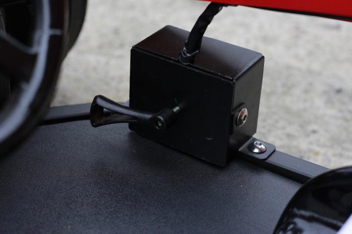 Masinuta electrica RAZER GT 48V 1000W cu 2 viteze #Rosu 10