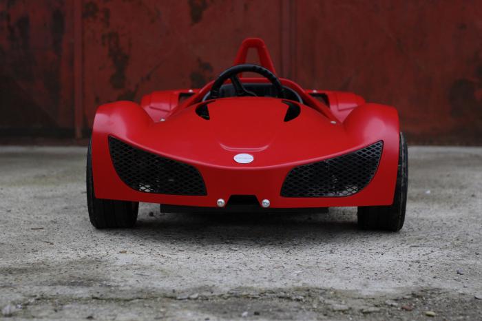Masinuta electrica RAZER GT 48V 1000W cu 2 viteze #Rosu 1