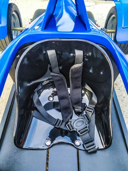 Masinuta electrica RAZER GT 48V 1000W cu 3 viteze #Albastru 6