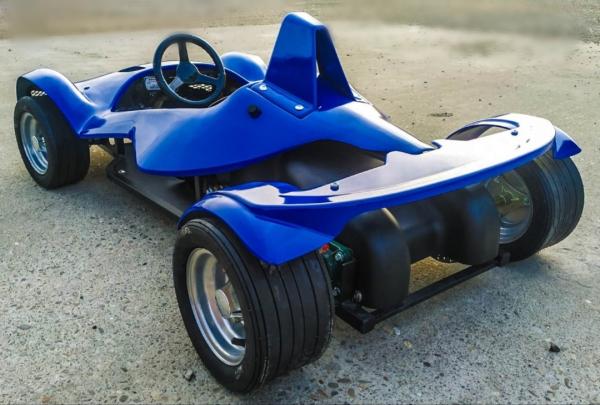 Masinuta electrica RAZER GT 48V 1000W cu 3 viteze #Albastru 8