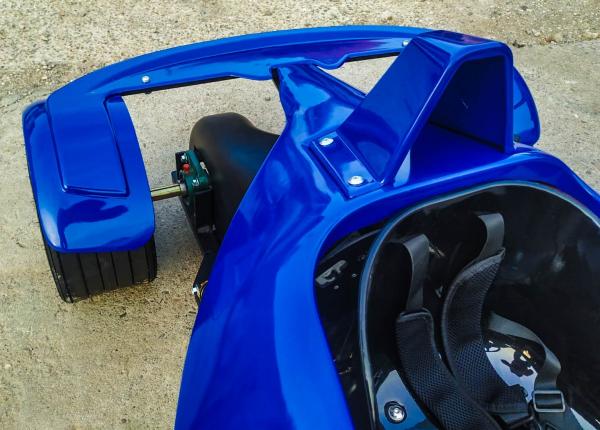 Masinuta electrica RAZER GT 48V 1000W cu 3 viteze #Albastru 2