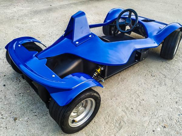 Masinuta electrica RAZER GT 48V 1000W cu 3 viteze #Albastru 3