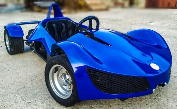 Masinuta electrica RAZER GT 48V 1000W cu 3 viteze #Albastru 1