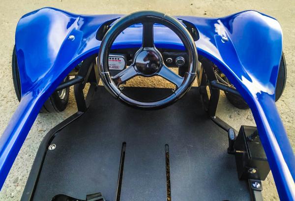 Masinuta electrica RAZER GT 48V 1000W cu 3 viteze #Albastru 4