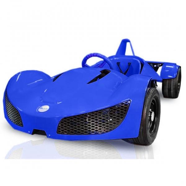 Masinuta electrica RAZER GT 48V 1000W cu 3 viteze #Albastru 0