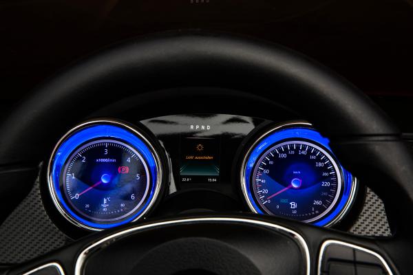 Masinuta electrica Mercedes X-Class 2x45W STANDARD #Albastru 3