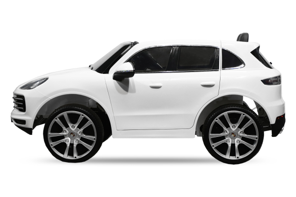Masinuta electrica Porsche Cayenne XXL PREMIUM #Alb 6