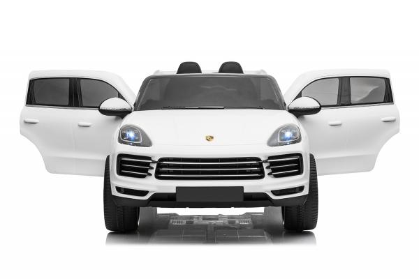 Masinuta electrica Porsche Cayenne XXL PREMIUM #Alb 3