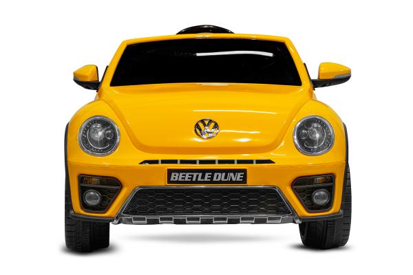 Masinuta electrica VW Beetle Dune Cabrio STANDARD #Galben 1