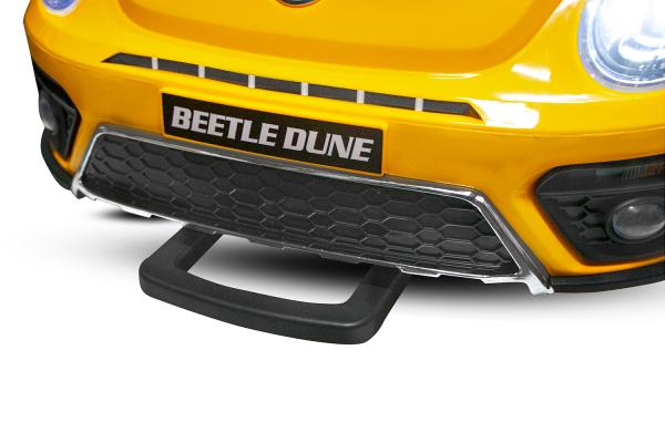 Masinuta electrica VW Beetle Dune Cabrio STANDARD #Galben 11