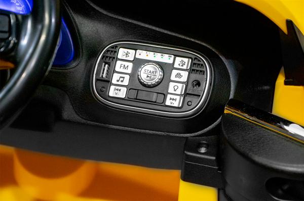 Masinuta electrica VW Beetle Dune Cabrio STANDARD #Galben 7