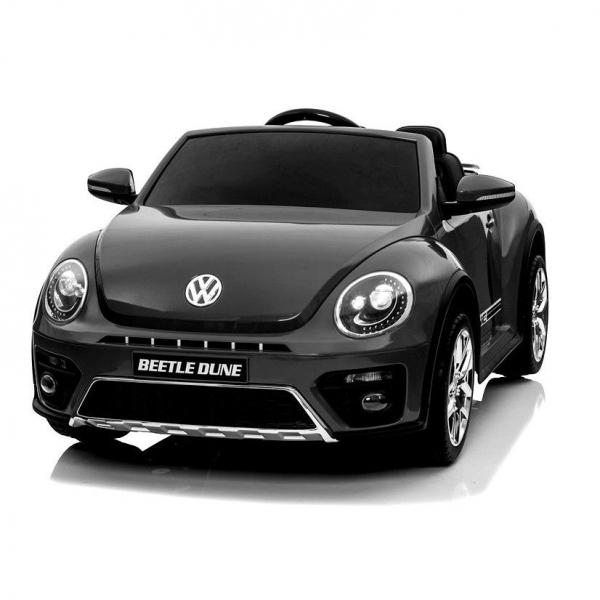 Masinuta electrica VW Beetle Dune Cabrio STANDARD #Negru 0